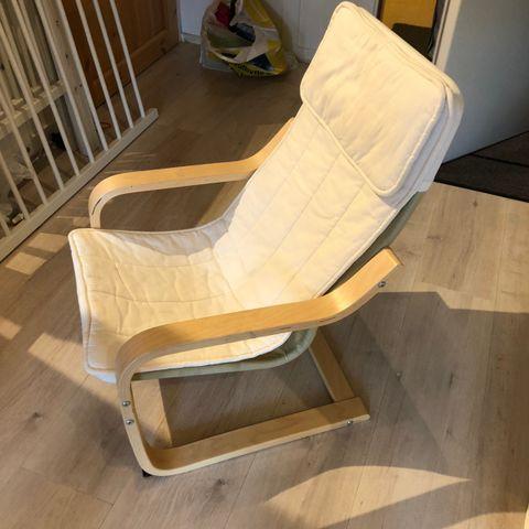 To stk. «Den spanske stol» første versjon, av Børge Mogensen