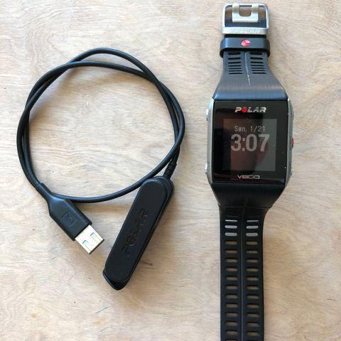 Pent brukt Polar V800 GPS klokke med lader   FINN.no