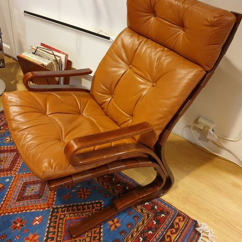 Siesta Lux Lounge Chair by Ingmar Relling for Westnofa