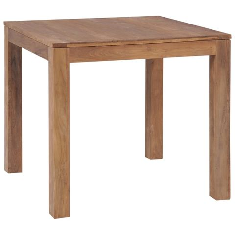 Køb vidaXL Spisebord massivt gjenvunnet tre 120x60x77 cm