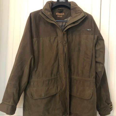 Hærkila goretex jakke og bukse herre str 50 grønn jakt kr