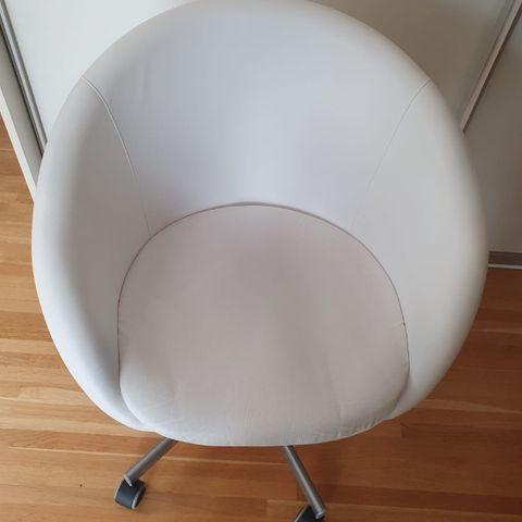 NY PRIS] Ubrukt og unik lenestol! ~ Kappel grå med sorte