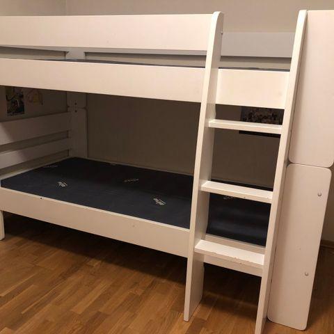 Pent brukt Stompa seng med skrivebord | FINN.no