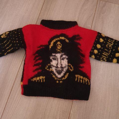 Kaptein Sabeltann strikket genser | FINN.no