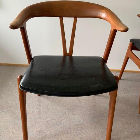 2 Musling stoler. Phillip Archtander. | FINN.no