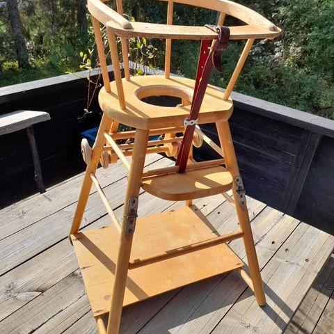 Barnestol fra 1970 tiden. | FINN.no