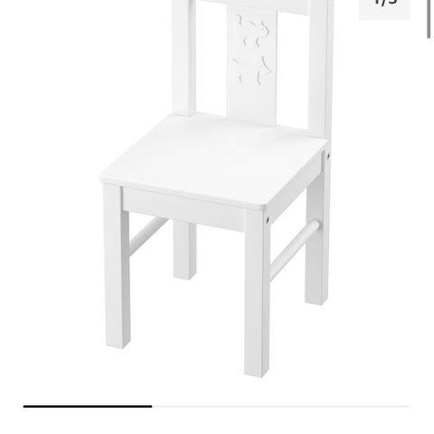 Kjøp Woodlii Bord og Stoler, Hvit | Jollyroom