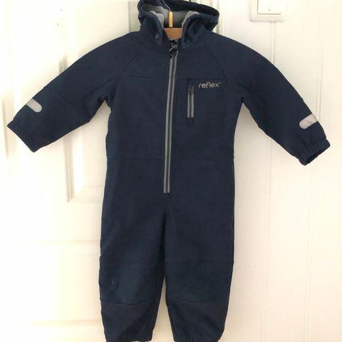 Reflex Hitra softshell jakke, svart