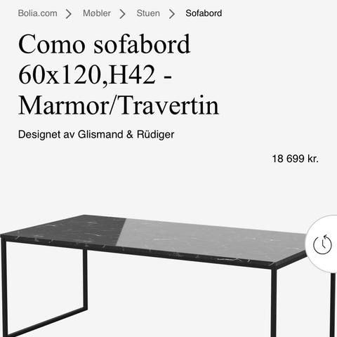 Knapt brukt 2x sofabord kjøpt på Bolia vår 2019 | FINN.no