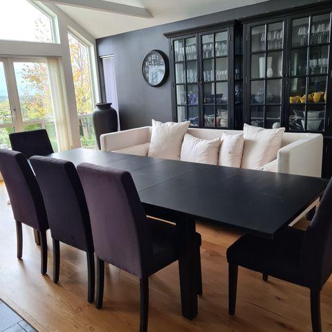 6 stk spisestuestoler fra Sofies villa | FINN.no