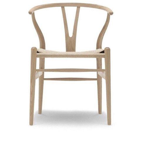 H. J. Wegner. Y stol, model CH 24, bøgetræ |