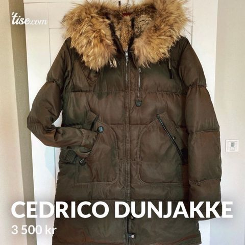 CEDRICO DUNJAKKE MONET 900