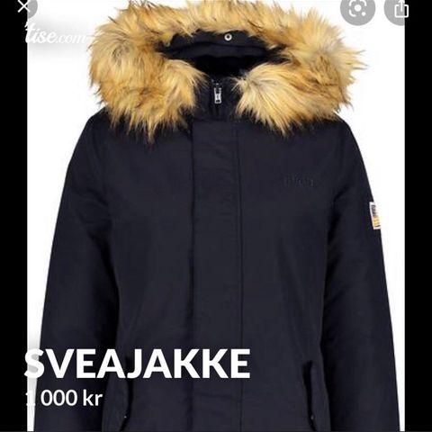 Svea vinterjakkeparkas sort | FINN.no