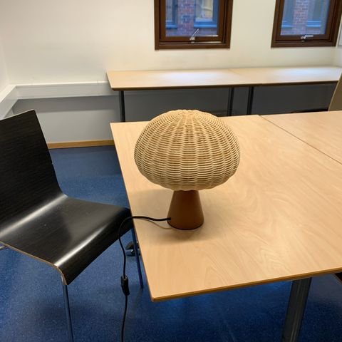 Heico Sopp Lampe Mushroom Lamp Red | FINN.no