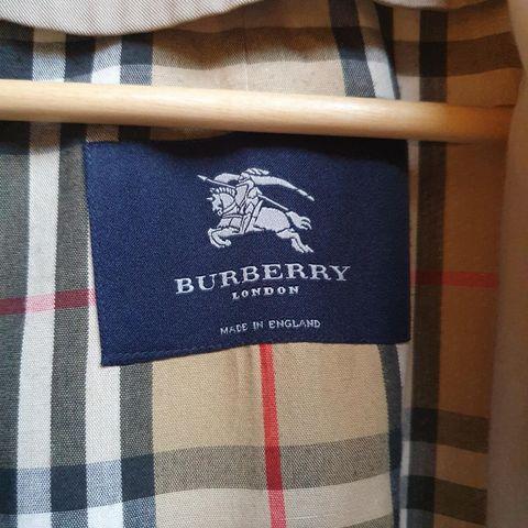Thomas Burberry trenchjakke beige | FINN.no