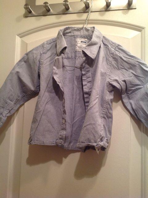 b7760705 To fine skjorter til gutt str 1-3 år