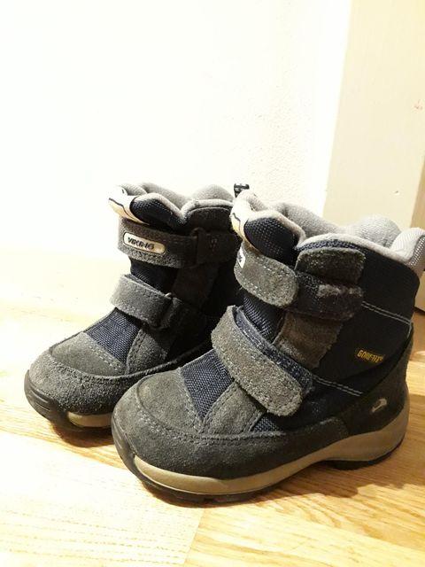 2474f17b Fine og varme Viking vinter støvler til salgs. Brukt av et barn en sesong.