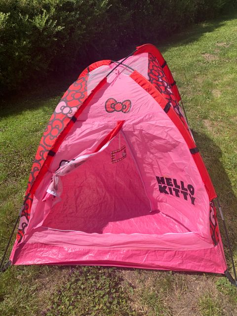d4c68c81 Hello kitty telt og virveltelt til småjenter