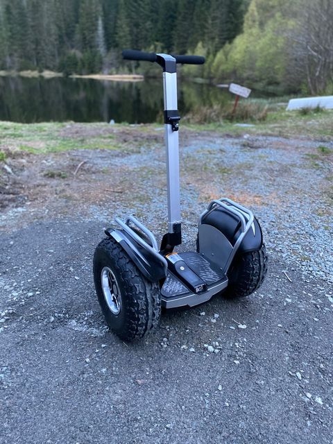 Hoverboard, Robust ståhjuling med grove dekk | FINN.no