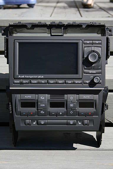 Audi A4 Komplett ombyggingsett 1din - 2din med RNS-E
