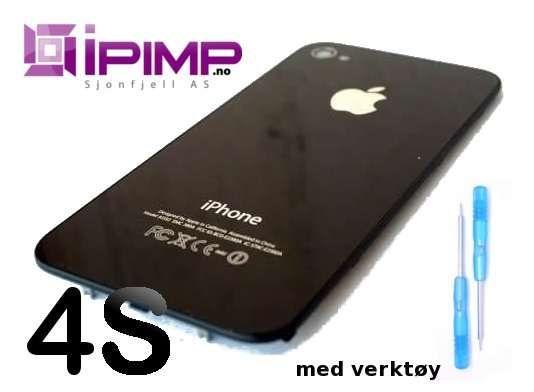 SVART Iphone 4S bakdeksel. | FINN.no