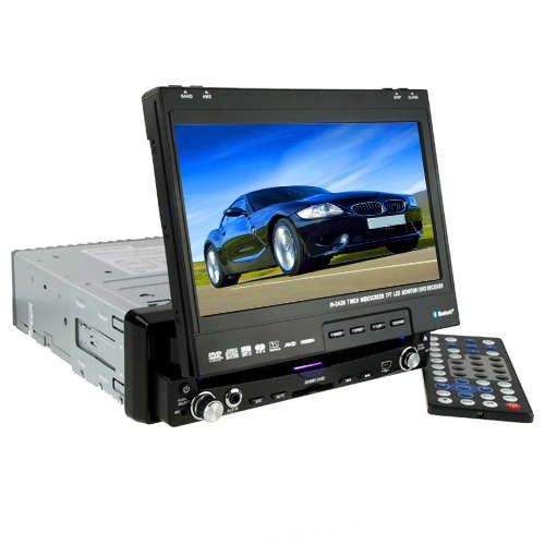 C05 Stor 7 tommers berøringsskjerm Bluetooth GPS Bil DVD