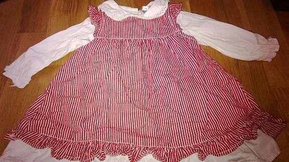 446609e4 Nydelig kjole str 74, brukt 1 gang! 70.- (1/45)