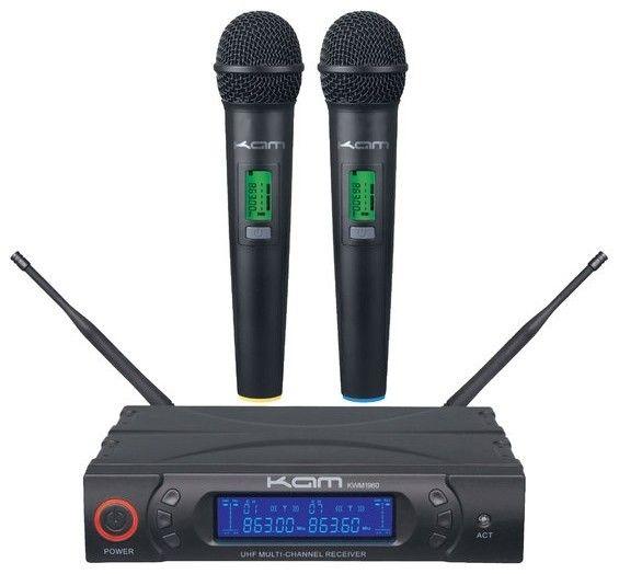 KAM KWM1960 to trådlösa PRO Mikrofoner demo ex | FINN.no
