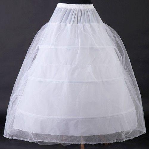 Underskjørt tre ringer til ballkjole eller brudekjole | FINN.no