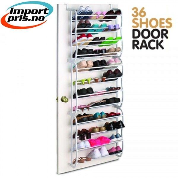 Super Shoes & Door sko stativ 36 par - henges over døren | FINN.no SK-23