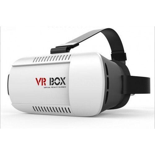 VR-Brille For Smartphone - Fantastisk Gave - Mjøndalen  - Opplev heftige 3D-effekter og filmer ved hjelp av din smartphone og et par VR-briller.   Last ned kompatible gratisapper på din mobiltelefon og plassér den i brillen.   Enkelt - vri på hodet så havner du midt i et 3 - Mjøndalen