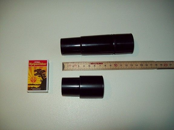 KAMELEON Støvsuger munnstykke gjennomsiktig klar med