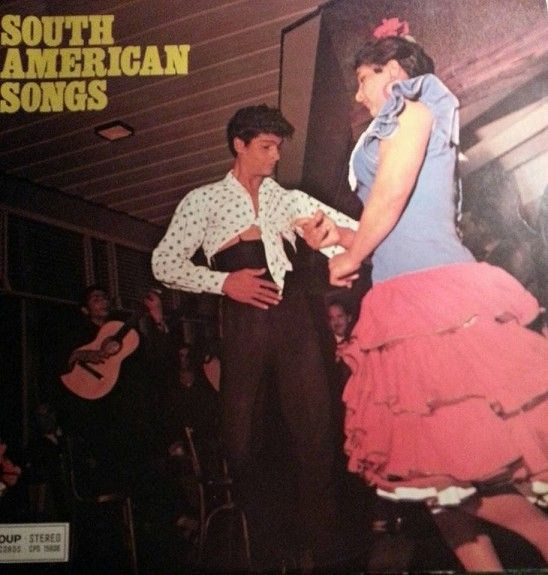 LP SOUTH AMERICAN SONGS.COUP RECORDS - Holmestrand  - LP.South American songs.