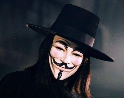 Guy fawkes maske - Hønefoss  - Guy fawkes maske fra filmen V for vendetta, også kalt Anonymous maske. Hentes eller sendes. Kjøper betaler for frakt. Halloween maske - Hønefoss