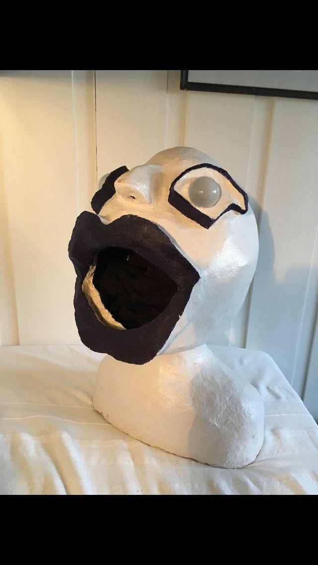 """Kunst figur """"Feed me"""" - Oslo  - Kunst figur """"Feed me"""" selges. 55cm høy og 1 m omkrets rundt hodet. - Oslo"""