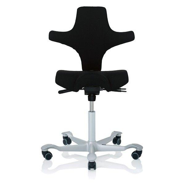 nye h g capisco 8106 kontorstol ergonomisk sadelstol. Black Bedroom Furniture Sets. Home Design Ideas