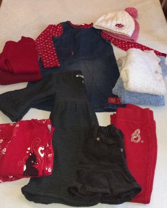 0c36a0bc8 Pakke med klær til jente str. 110 (4-5 år)   FINN.no