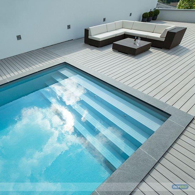 f20c4f07c Svømmebasseng, glassfiber, betong, rustfritt stål eller BioNova ...