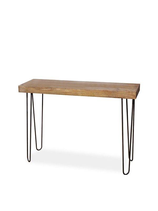 Wonderful Konsollbord m/bordplate i tre. Lagervare. Fri frakt i hele Norge HW-57