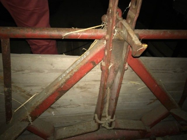 Kverneland silosvans - Algarheim  - Kverneland silosvans selges. Alltid lagret innendørs. - Algarheim