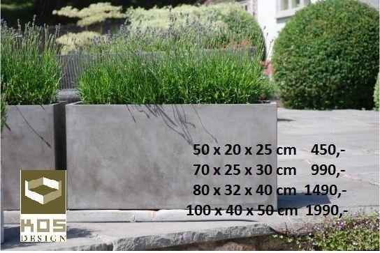 Svært FRI FRAKT Fresco Plantekasser/blomsterpotter/blomsterkasser/urner WQ-46