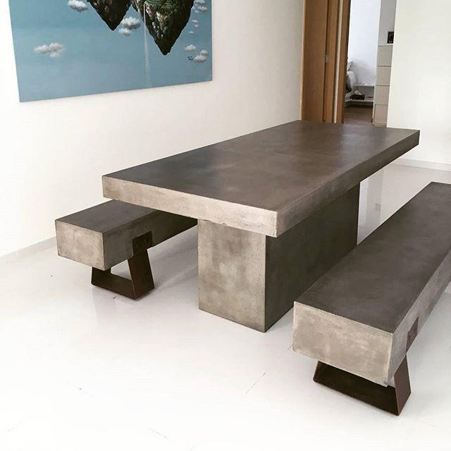 utemøbler benk og bord