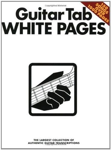 "Guitar Tab White pages - ålesund  - Guitar Tab White pages, 1000 sider med 150 sanger, ""The largest collection of Authentic Guitar Transcriptions"". Bla. a Jimy Hendrix , Beatles, Elvis Presley, Kiss, Dire Straits, Aerosmith, Black Sabbath, Police, Van Morrison og mange andre kje - ålesund"