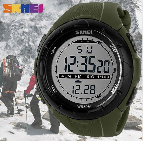 Men Sports Watches 50m Waterproof SKMEI Brand LED Digital Watch Men Women Swim C - Oslo  - Men Sports Watches 50m Waterproof SKMEI Brand LED Digital Watch Men Women Swim Climbing Outdoor Casual Military Wristwatch  Not Used. I bought it for someone else but he does not need it.   Quantity : 1 Color : - Oslo