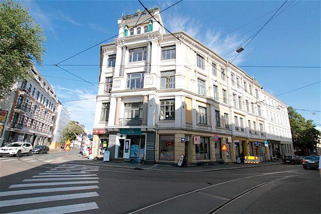 Flott fasade og