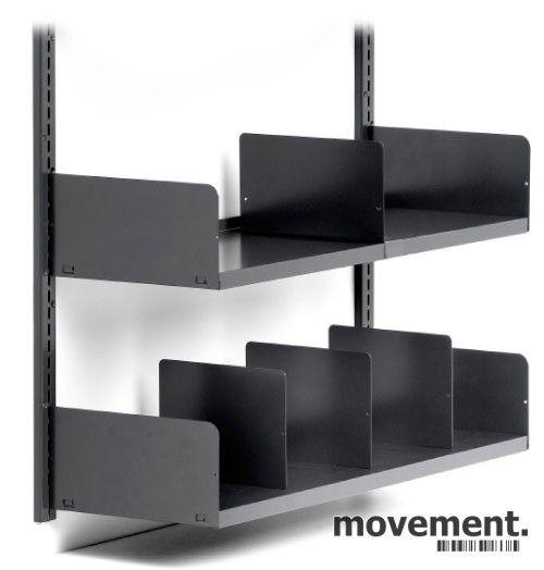 Modernistisk 8 stk Veggmontert hylle / vegghyller / vegghengt arkivhylle fra UW-23