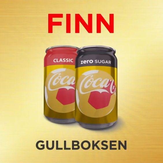 a8af7111 Gullbokser fra Coca-Cola ØNSKES KJØPT! | FINN.no