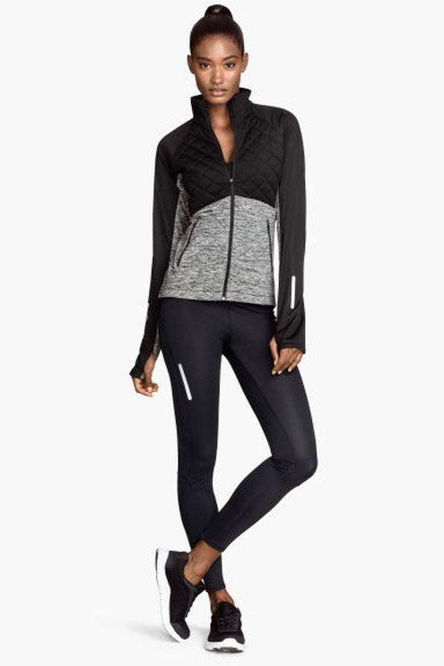 Vinter leggings jogging bukser H&m sport xs 34 xxs 32 løp