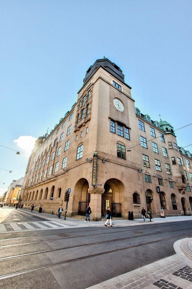 Fantastisk og sjarmerende fasade