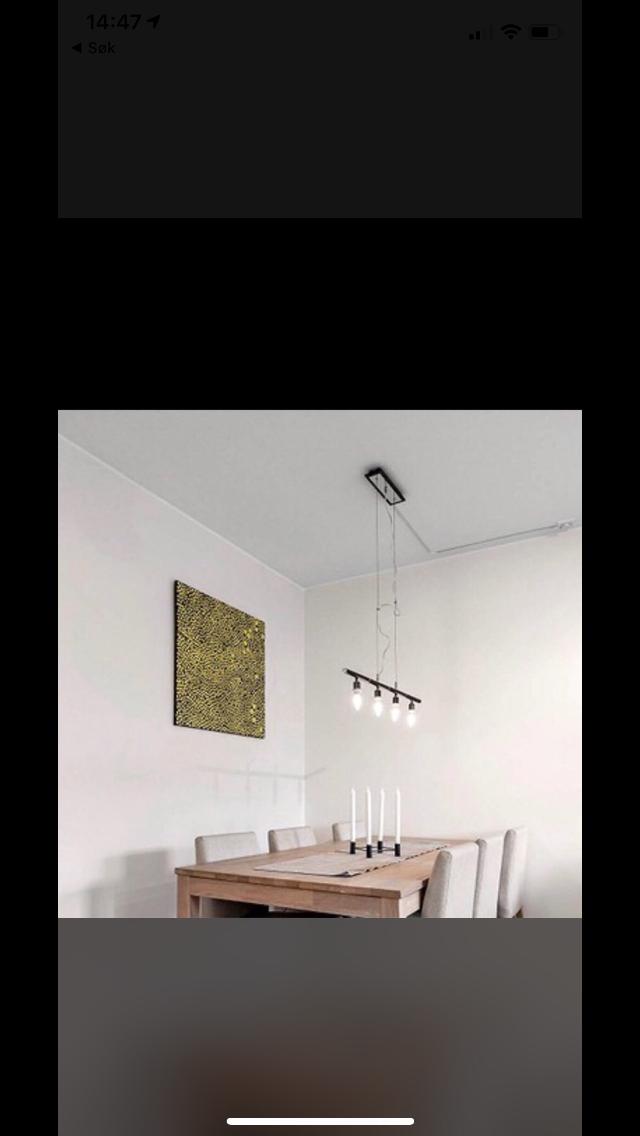 Nice Spisebordslampe | FINN.no MP69